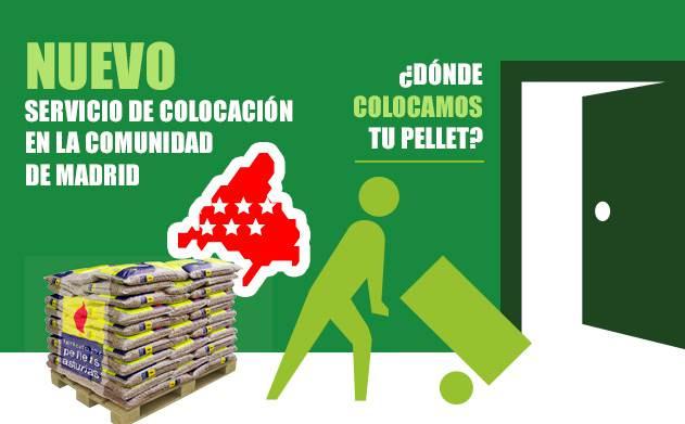 Colocacion Pellets Asturias Comunidad Madrid